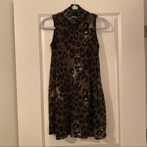 Karlie Leopard Tunic